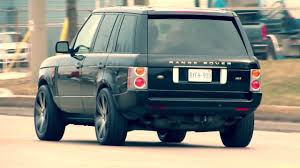2005 LAND ROVER RANGE ROVER WITH 22 INCH CUSTOM BLACK RIMS ...