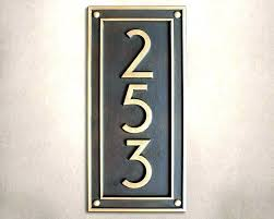 house number plaques modern house number plaques modern vertical house numbers plaque vertical house number modern house number plaques