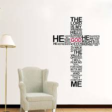 church wall decals removable wall stickers christ pray bless home decor church decoration
