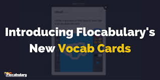 vocab cards with pictures deepen students vocabularies with flocabs new vocab cards