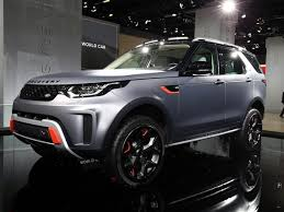 2018 land rover discovery svx.  svx the ultimate allterrain land rover has been introduced at the frankfurt  auto show in guise of 2018 discovery svx a special model developed by  with land rover discovery svx r