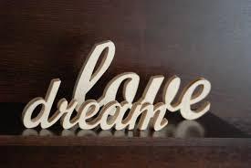 Custom Made Word Sign Wooden Wall Decor Wedding Home
