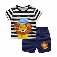 Baby Girl Clothes Lovely <b>Baby Boy Girl Summer</b> Infant Clothing ...