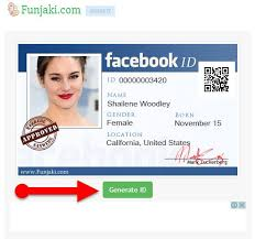 Make An Id Card How To Create Facebook Id Card Fake Identity Maker 2017