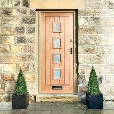 oak front door external oak glazed hardwood doors wooden front door with glass