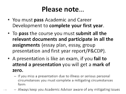 academic and career development bman ppt video online  you must pass academic and career development to complete your first year