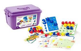 <b>Набор</b> обучающий Activity Pins в чемоданчике, <b>Miniland</b> educational