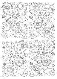 patterns to color. Simple Color Free Coloring Page Coloringpaisley Beautiful And Harmonious Paisley Patterns  To Print Color To Patterns Color Pinterest