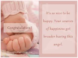 New Born Baby Wishes And Newborn Baby Congratulation Messages