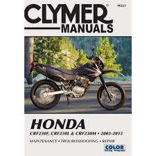 Clymer Repair Manual Honda Crf230f L M M223 Manuals Books 2003 Honda Crf230f Service Manual