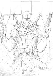 People ~ Printable Deadpool and Wolverine Coloring Pages ...