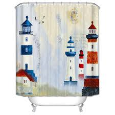lighthouse shower curtain and get free on aliexpress com