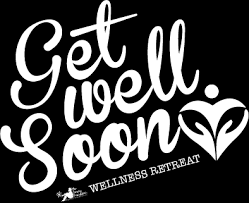 Get Well Soon Poster Get Well Soon Yoga Retreat