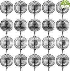 Disco Ball Balloons 20 Pieces 22 Inch 4D Disco ... - Amazon.com