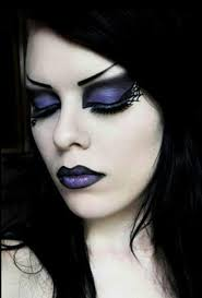 traditional gothic makeup arched brows dark lips eyes and whitewashed face bold yet sultry camdentown