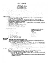 Nursing Resume Objective Examples Objectives For Entry Level Sevte
