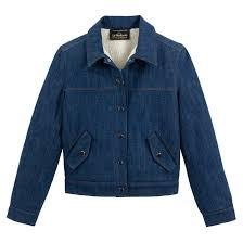 <b>Блузон джинсовый</b> синий вытертый Vanessa Seward X <b>La</b> ...