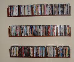 my benno dvd wall shelves diy dvd