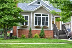 exterior paint colors that go with brickInspired Living Small Changes Big Impact  Painting Our Exterior