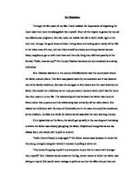 significant person essay  important people in my life essay example essays