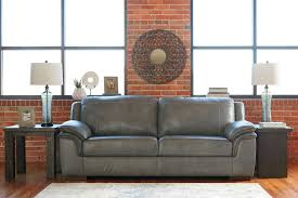 picture of marina steel leather sofa