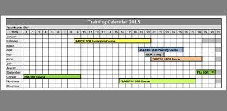 training calendars templates training calendar template 25 free word pdf psd documents