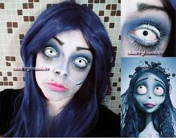 picture of corpse bride makeup tutorial 8 easy steps