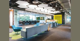 creative office ceiling. Delighful Ceiling Futuristic Office Design With Unique Exposed Ceiling Ideas And Creative