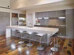 Modern Kitchen Island Stools Kitchen Design Kitchen Inspiration Elegant Gray And White