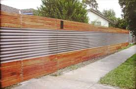 interesting corrugated metal privacy fence best idea garden with likable how to build graphics scheme adjust your house