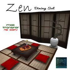 Zen Dining Set - Transfer Version [Japanese, Oriental, Asian]