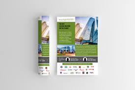 Fedex Brochure Design Modern Upmarket Flyer Design For Greenlight One Llc By