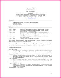 Resume For Graduate Student Resume For Your Job Application