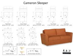 double sofa bed dimensions on specs ih61zhw1