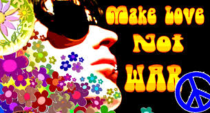 Image result for pictures make love not war