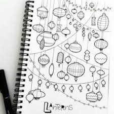 page full of lanterns find this pin and more on notebook doodles