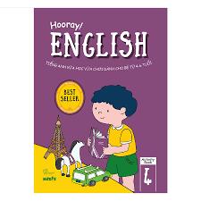 Hooray English - Tiếng Anh Vừa Học Vừa Chơi Dành Cho Bé Từ 4-6 Tuổi  (Activity Book 4)