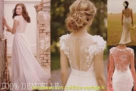 Robe Coiffure Mariage Dos Mariée Schick Nu Yb6gvif7y