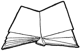 step 4 drawing open books instructions tutorial