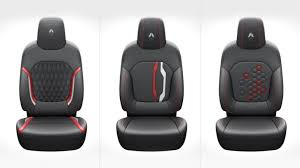 leather car seat cover list in india