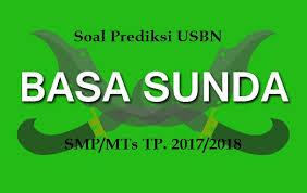 Contoh latihan soal ujian sekolah bahasa indonesia sd tahun 2018. Soal Prediksi Usbn Bahasa Sunda Smp Mts Cara Sunda