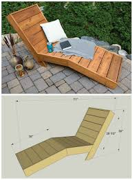image outdoor furniture chaise. DIY Outdoor Chaise Lounge :: FREE PLANS At Buildsomething.com Image Furniture