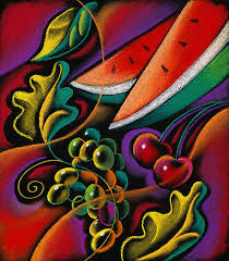 healthy fruit by leon zernitsky healthy fruit painting healthy