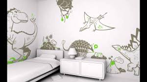 Small Picture boys bedroom wall decals design with dinosaur theme modern kids
