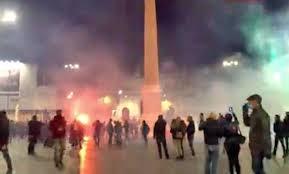 Scontri a Roma contro il coprifuoco anti-Covid - Tusciaweb.eu