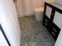 Nice Pictures And Ideas Of Pebble Bath Tiles - Glazed bathroom tile