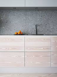 matt grey kitchen tiles inspirational grey terrazzo kitchen backsplash contrasts the light colored