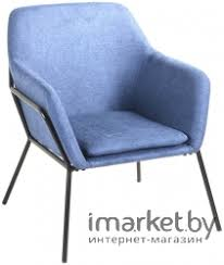 Характеристики <b>Кресло Stool Group Шелфорд</b> синий ...