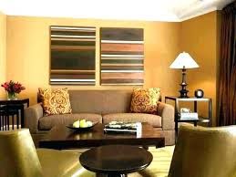 tan and black living room ideas brown red grey rug with dark leather furniture