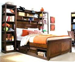 over bed shelving unit with full size headboard back to storage shelf t bed shelves over shelving unit